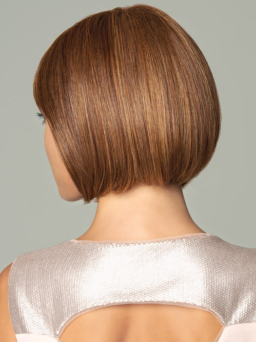 Face-framing sides that angle up to a slightly shorter back | Color: Medium Red