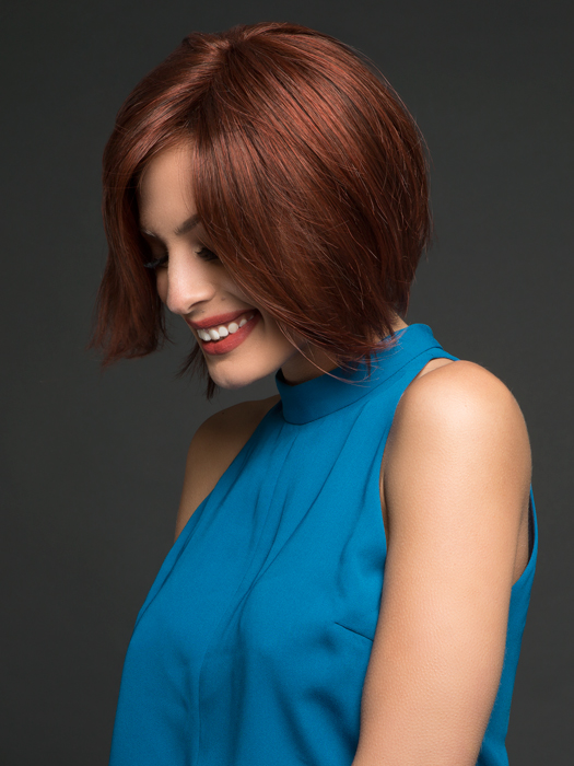 Falls beautifully just like your own hair!  | Top Color: GL30/130 Sangria- Intense fiery red