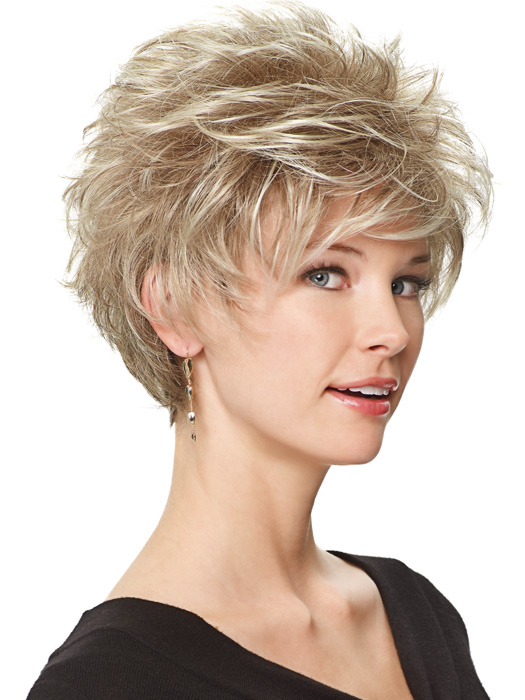 Perk Petite by Gabor Wigs : Side View | Color G19+