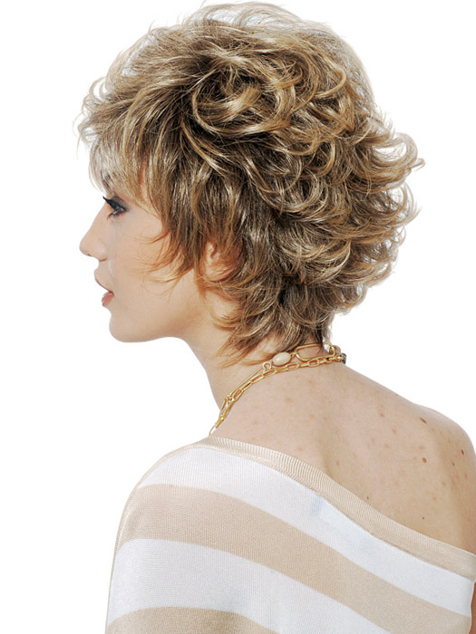 Estetica Designs Abby Wig : Side View | Color R24/6BT