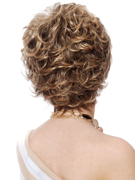 Estetica Designs Abby Wig : Back View | Color R24/6BT