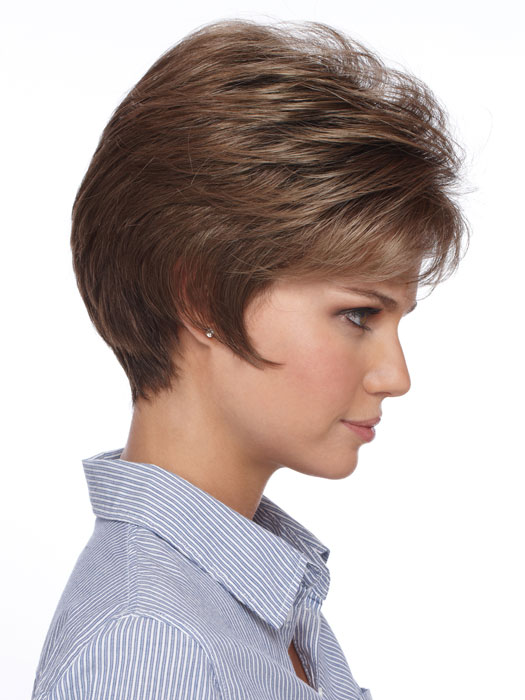 Estetica Annie Wig : Profile View | Color R8LF14