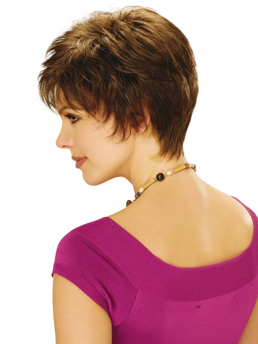 Estetica Designs Annie Wig : Profile View | Color R8