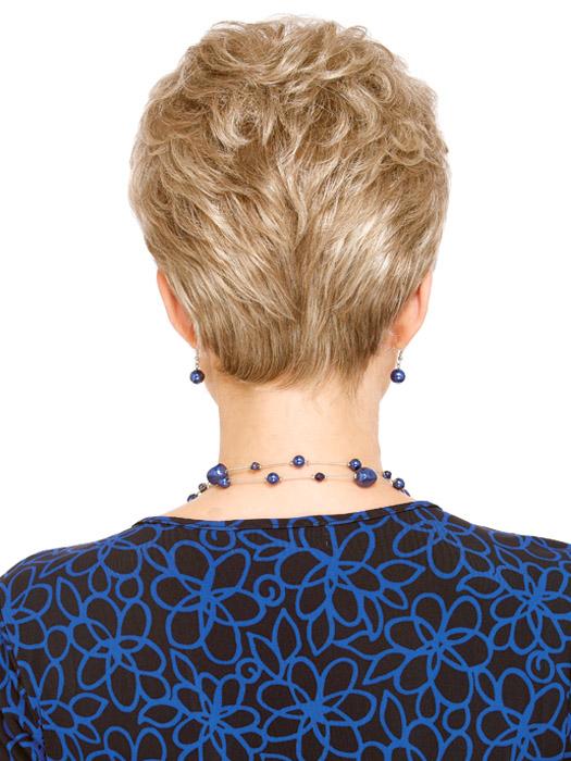 Estetica Aura Wig : Back View | Color R16/22
