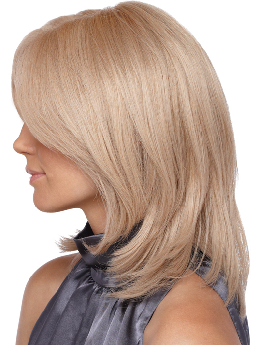 Estetica Designs Brook LF Wig: 100% Remi | Profile View | Color R140/14