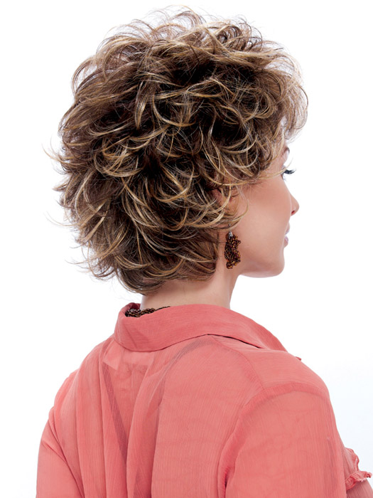 Designs Wigs Carly Wig : Back View | Color R8/26H