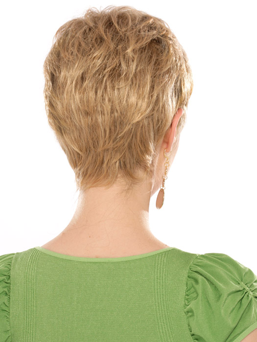 Estetica Designs Wigs Casey Wig : Back View | Color R24/18BT