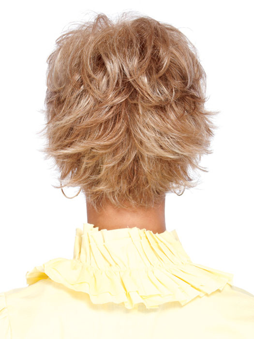 Estetica Designs Wigs Crissy Wig : Back View | Color R20F