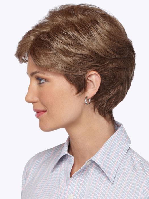Estetica Designs Diamond Wig : Profile View | Color R12/26H