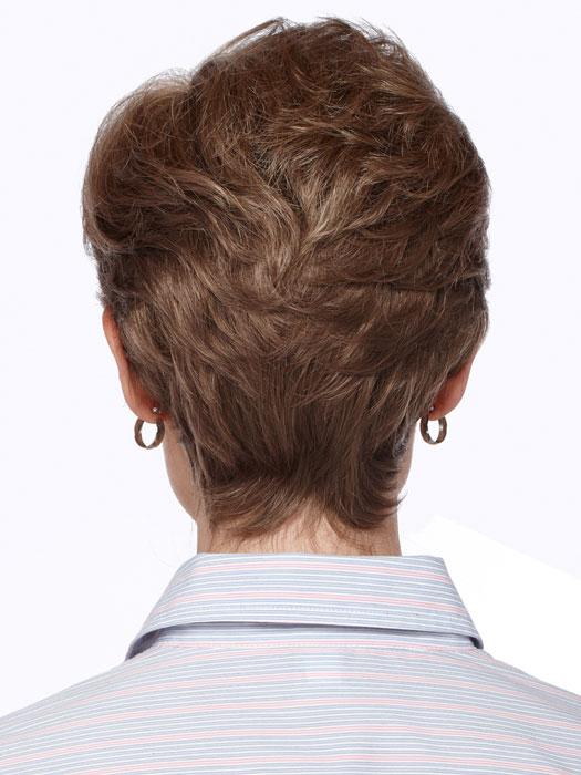 Estetica Designs Diamond Wig : Back View | Color R12/26H
