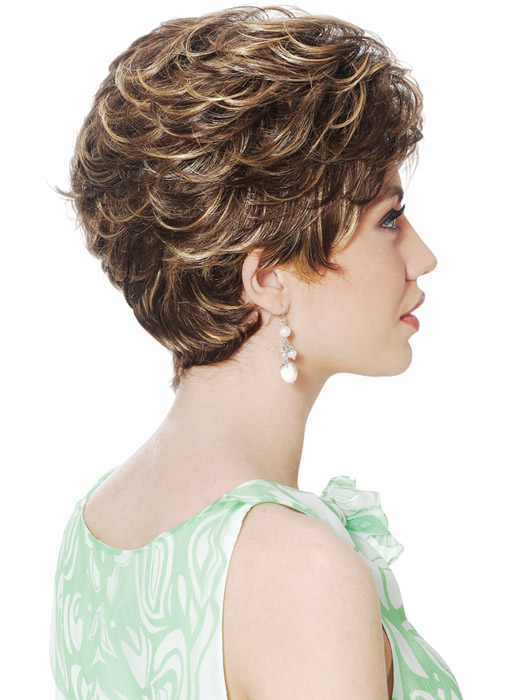 Estetica Diamond Wig : Side View | Color R8/26H