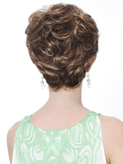 Estetica Diamond Wig : Back View | Color R8/26H