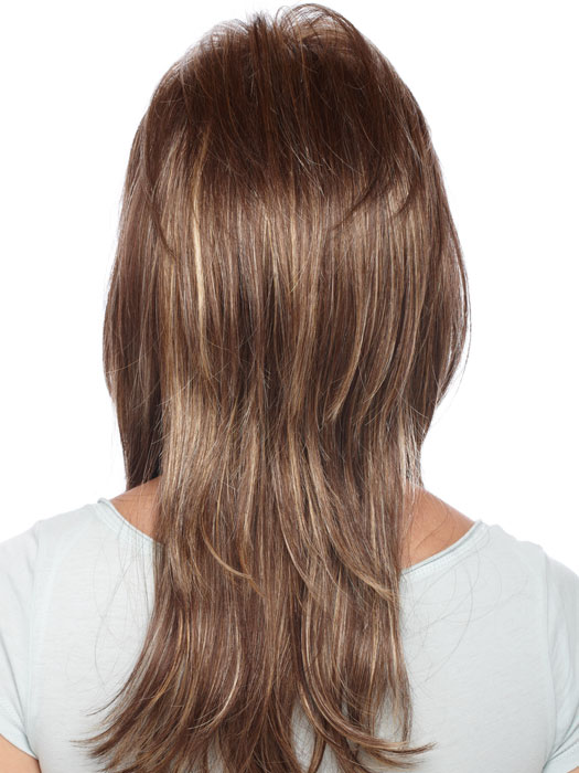 Estetica Designs Wigs Dixie : Back View | Color CARAMELKISS