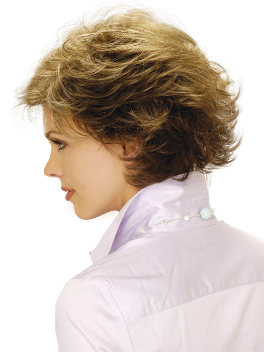 Estetica Designs Wig Faye Wig : Side View | Color R8LF14