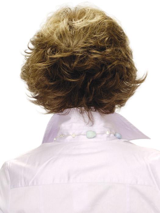 Estetica Designs Wig Faye Wig : Back View | Color R8LF14