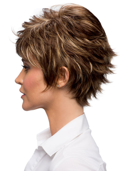 Estetica Designs Heidi Wig : Profile View |  Color R8/26H