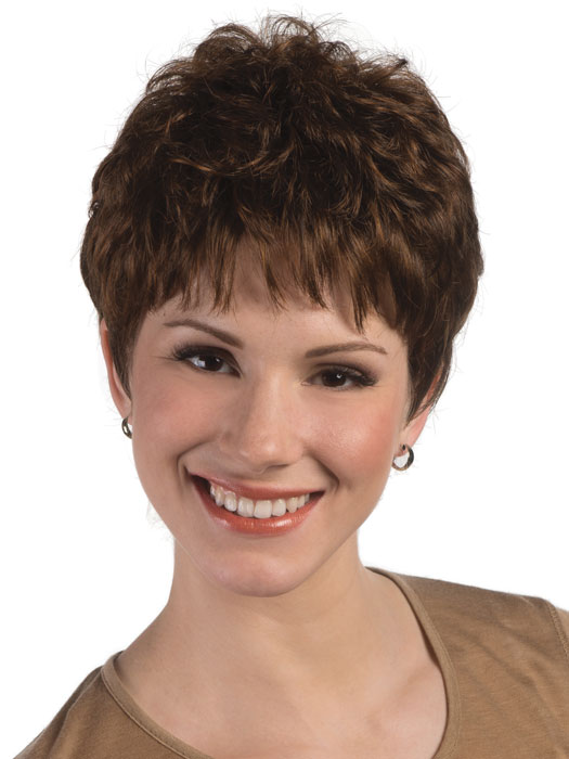 Jamie Wig by Estetica Designs Wigs : Front View | Color R6LF29