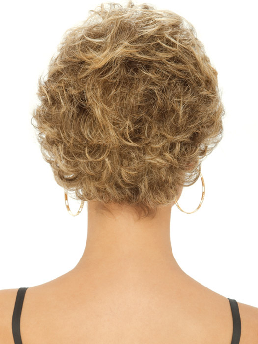 Estetica Designs Maria Wig : Back View | Color R24/18BT