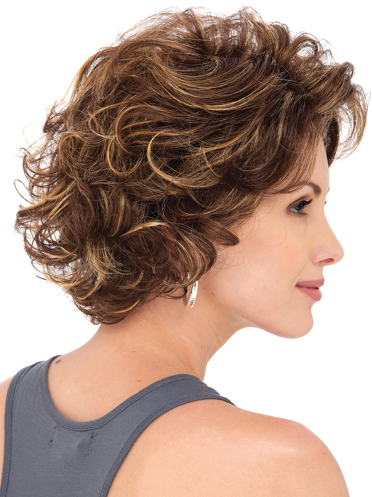 Estetica Designs Wigs Meryl Wig : Profile View | Color  CARAMELKISS
