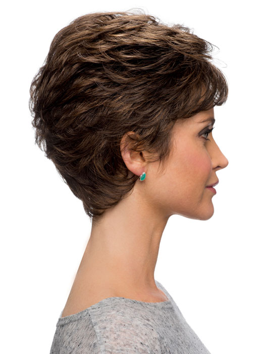 Miranda Wig by Estetica Designs Wigs : Profile View | Color R6/27H
