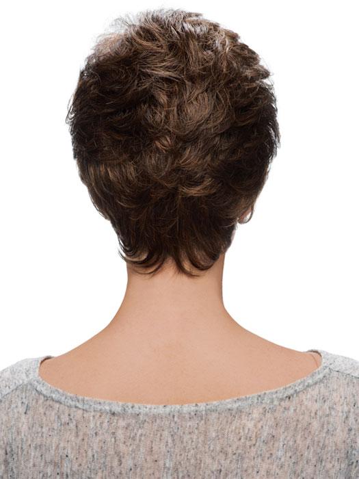 Miranda Wig by Estetica Designs Wigs : Back View | Color R6/27H
