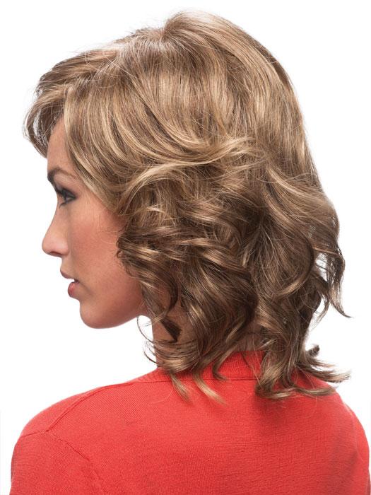 Estetica Designs Patti Wig : Side View | Color R18/24H