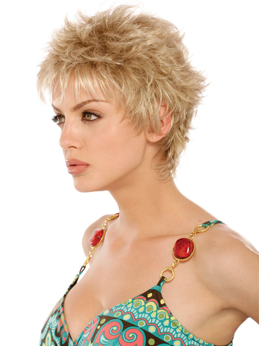 Estetica Demi Wig : Side View |Color RH1488