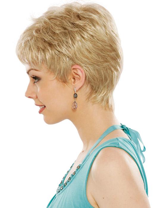 Estetica Vikki Wig: Profile View | Color RH1488