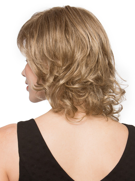 Loose curls stay in tact, even after you wash!   Color: Sand Mix
