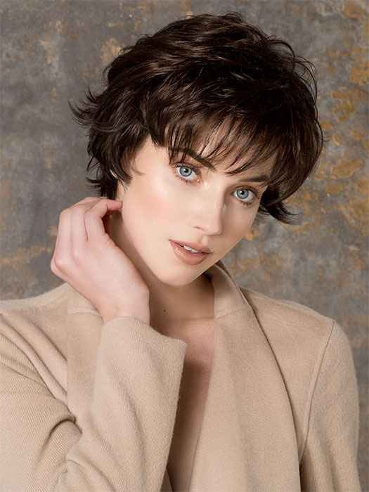 Great texture with this layered cut
