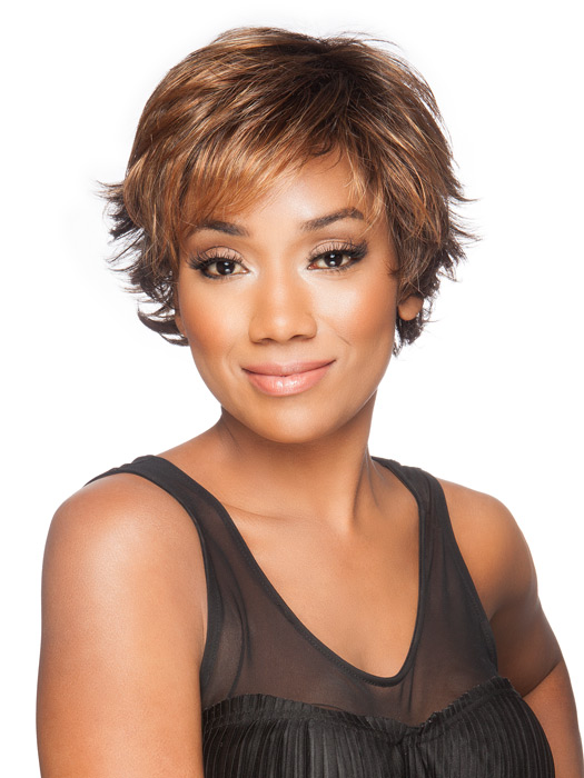 Wigs.com Exclusive Photo | Color: Hazelnut Rooted