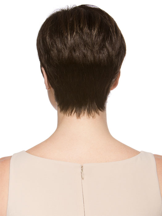 Soft, tapered neckline | Color COFFEE-LIGHTED