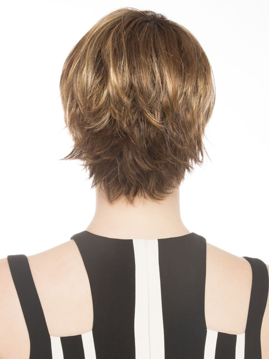 Expertly tapered neckline