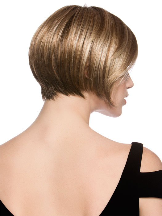 Talia Mono | Side bang with tapered neckline