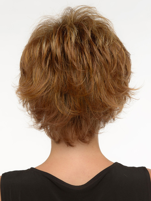 Tapered neckline with tons of body and movement.  | Color: Golden Nutmeg