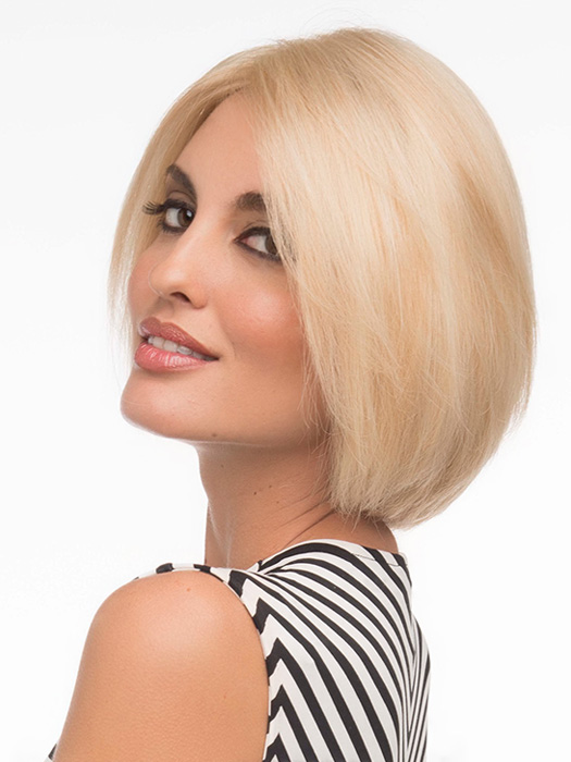 Sleek jaw-length stunning bob | Color Medium-Blonde
