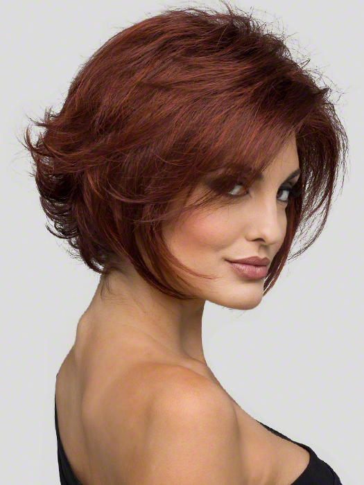 Envy Angie Wig : Lace Front | Color Dark Red