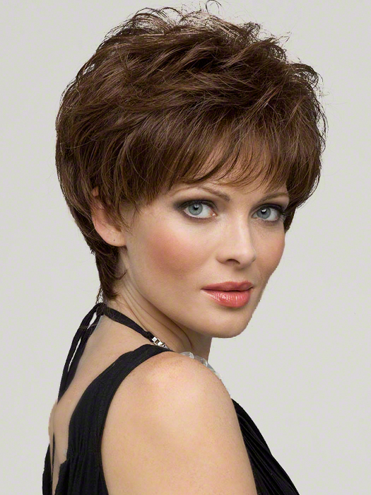 Envy Aubrey Wig : 100% Hand-tied | Color MEDIUM BROWN