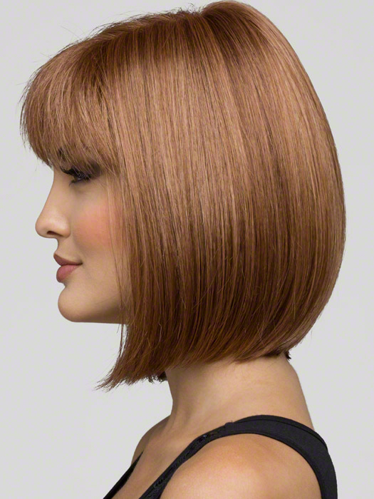 Envy Carley Side View : Color Light Brown - Envy Carley Monofilament Wig