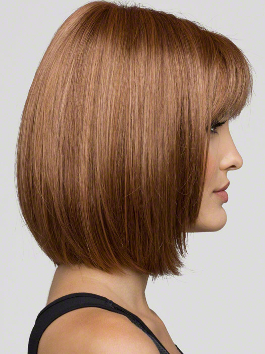 Envy Carley Profile View : Color Light Brown (2 tone color with Light Golden brown and dark blonde highlights)