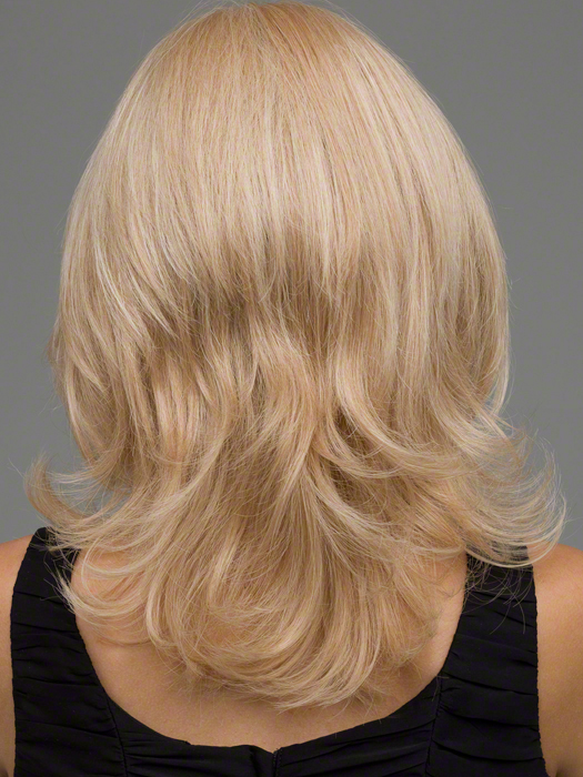 Envy Danielle Wig : Back View | Color VANILLA BUTTER