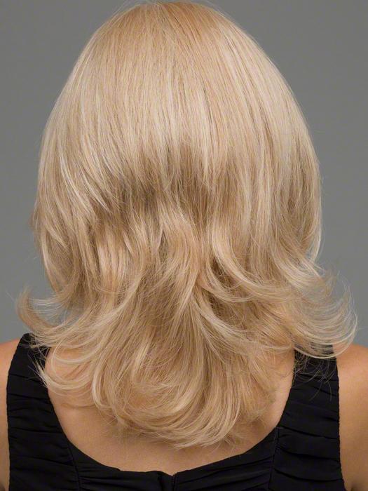 Envy Danielle Wig : Back View | Color VANILLA BUTTER