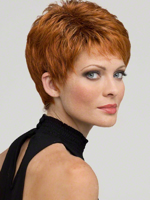 Envy Wigs Heather : Monofilament | Color LIGHTER RED