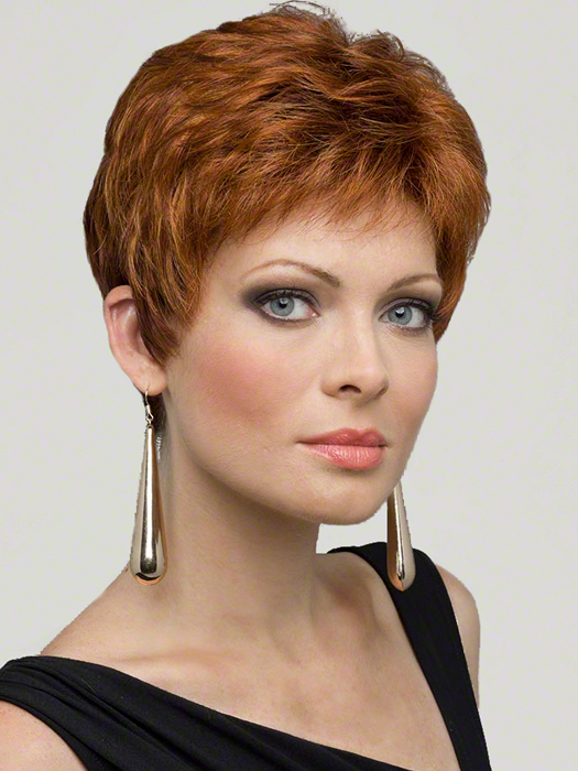 Envy Jeannie Wig : Monofilament Top | Color LIGHTER RED