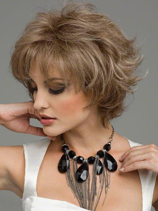 Envy Wigs Kylie Wig : Monofilament Top   Color ALMOND BREEZE