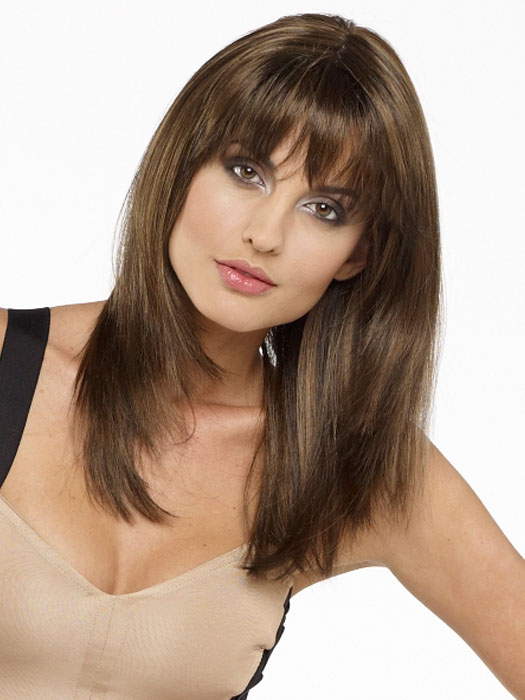 Leyla by Envy Wigs : Color MEDIUM BROWN