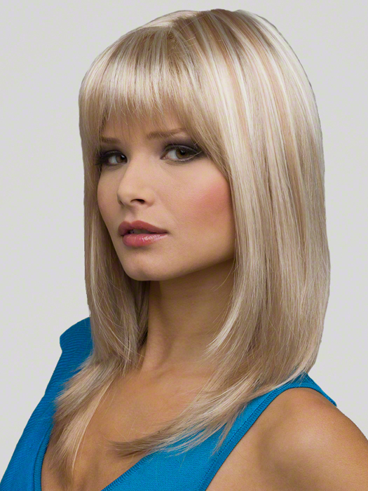 Envy Madison Wig : Side View | Color LIGHT-BLONDE