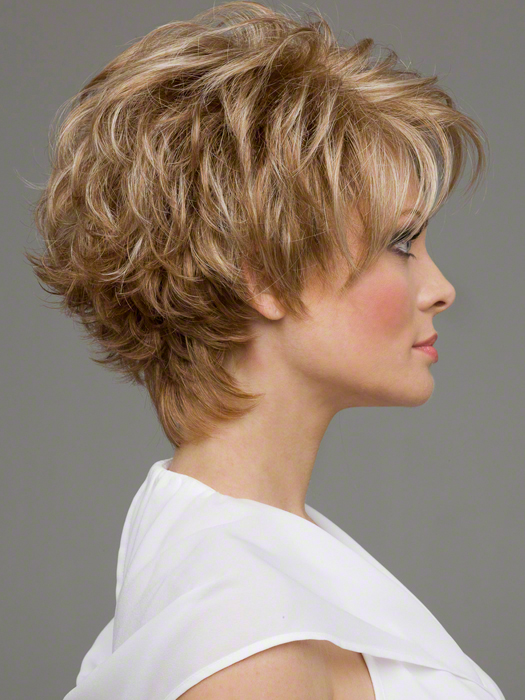 Envy Micki Wig : Right Profile | Color Dark-Blonde