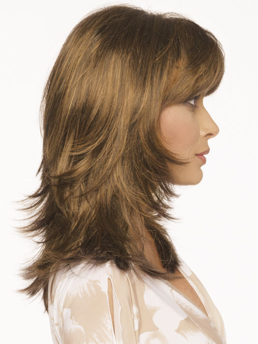 Envy Nadia Wig : Right Profile | Color LIGHT BROWN