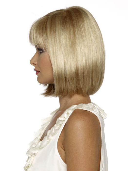 Envy Petite Paige Wig : Left Profile | Color Light-Blonde